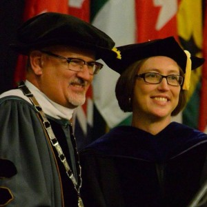 Dr. Roger Casey with Dr. Gretchen McKay